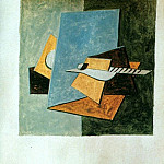 1920 Guitare1, Pablo Picasso (1881-1973) Period of creation: 1919-1930