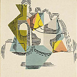1922 Bouteille et compotier, Pablo Picasso (1881-1973) Period of creation: 1919-1930