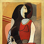 1927 Femme assise1, Pablo Picasso (1881-1973) Period of creation: 1919-1930
