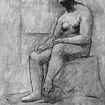 1922 Nu assis1, Pablo Picasso (1881-1973) Period of creation: 1919-1930