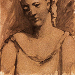 Pablo Picasso (1881-1973) Period of creation: 1919-1930 - 1923 Buste de femme (Sarah Murphy)