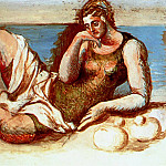 Pablo Picasso (1881-1973) Period of creation: 1919-1930 - 1919 Baigneuse