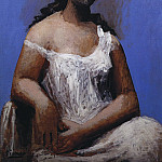 Pablo Picasso (1881-1973) Period of creation: 1919-1930 - 1923 Femme assise en chemise