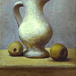 Pablo Picasso (1881-1973) Period of creation: 1919-1930 - 1919 Nature morte au pichet et pommes. JPG