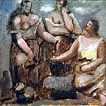 1921 Trois femmes Е la fontaine1, Pablo Picasso (1881-1973) Period of creation: 1919-1930