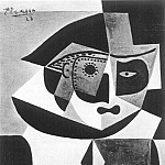 1923 TИte darlequin, Pablo Picasso (1881-1973) Period of creation: 1919-1930