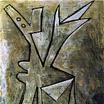 Pablo Picasso (1881-1973) Period of creation: 1919-1930 - 1928 Femme grise et noire