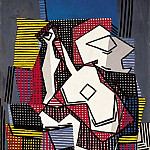 1922 Bouteille, guitare et compotier, Pablo Picasso (1881-1973) Period of creation: 1919-1930