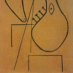1927 TИte sur fond rouge, Pablo Picasso (1881-1973) Period of creation: 1919-1930