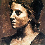 1923 Portrait dOlga2, Pablo Picasso (1881-1973) Period of creation: 1919-1930