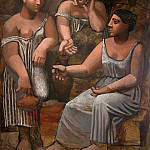 1921 Trois femmes Е la fontaine, Pablo Picasso (1881-1973) Period of creation: 1919-1930