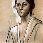 1921 Portrait dOlga1, Pablo Picasso (1881-1973) Period of creation: 1919-1930