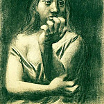 Pablo Picasso (1881-1973) Period of creation: 1919-1930 - 1923 Buste de femme