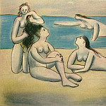 1920 Quatre baigneuses, Pablo Picasso (1881-1973) Period of creation: 1919-1930