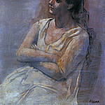 Pablo Picasso (1881-1973) Period of creation: 1919-1930 - 1923 Femme assise les bras croisВs (Sarah Murphy)