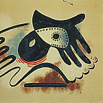 1923 Gant et masque, Pablo Picasso (1881-1973) Period of creation: 1919-1930