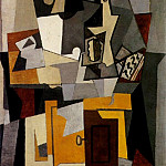 1919 Composition, Pablo Picasso (1881-1973) Period of creation: 1919-1930