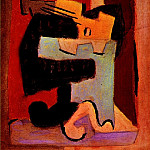 Pablo Picasso (1881-1973) Period of creation: 1919-1930 - 1920 Homme Е la mandoline