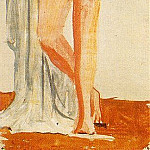 Pablo Picasso (1881-1973) Period of creation: 1919-1930 - 1921 Femme nue debout accoudВe