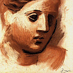 1921 TИte de femme6, Pablo Picasso (1881-1973) Period of creation: 1919-1930