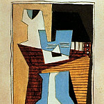 1920 Guitare et compotier sur une table, Pablo Picasso (1881-1973) Period of creation: 1919-1930