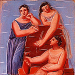 1921 Trois femmes Е la fontaine6, Pablo Picasso (1881-1973) Period of creation: 1919-1930