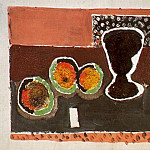 1920 Verre et pomme, Pablo Picasso (1881-1973) Period of creation: 1919-1930