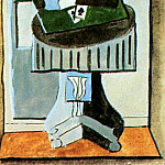 1919 Nature morte devant une fenИtre3, Pablo Picasso (1881-1973) Period of creation: 1919-1930