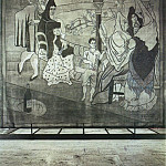 Pablo Picasso (1881-1973) Period of creation: 1919-1930 - 1919 Le rideau de scКne (Le Tricorne)