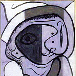 1926 TИte, Pablo Picasso (1881-1973) Period of creation: 1919-1930
