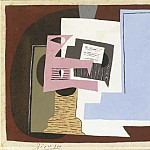 Pablo Picasso (1881-1973) Period of creation: 1919-1930 - 1920 Nature morte avec guitare et partition