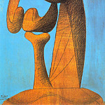 Pablo Picasso (1881-1973) Period of creation: 1919-1930 - 1930 Etude pour un monument