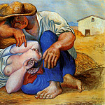 Pablo Picasso (1881-1973) Period of creation: 1919-1930 - 1919 La sieste