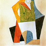 1920 Composition gВomВtrique, Pablo Picasso (1881-1973) Period of creation: 1919-1930
