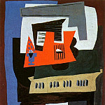 1920 Le piano, Pablo Picasso (1881-1973) Period of creation: 1919-1930