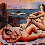 1920 Trois baigneuses3, Pablo Picasso (1881-1973) Period of creation: 1919-1930