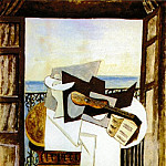 1919 La table devant la fenИtre, Pablo Picasso (1881-1973) Period of creation: 1919-1930