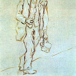 Pablo Picasso (1881-1973) Period of creation: 1919-1930 - 1920 Homme avec couffin