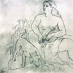 1921 La source. JPG, Pablo Picasso (1881-1973) Period of creation: 1919-1930