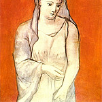 1923 La femme au voile bleu, Pablo Picasso (1881-1973) Period of creation: 1919-1930