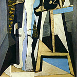 1926 IntВrieur avec chevalet, Pablo Picasso (1881-1973) Period of creation: 1919-1930