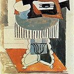 1919 Nature morte devant une fenИtre4, Pablo Picasso (1881-1973) Period of creation: 1919-1930