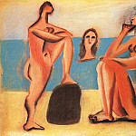 Pablo Picasso (1881-1973) Period of creation: 1919-1930 - 1920 Trois baigneuses2