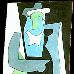 Pablo Picasso (1881-1973) Period of creation: 1919-1930 - 1920 Femme assise2
