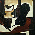 1925 Nature morte Е la tИte antique , Pablo Picasso (1881-1973) Period of creation: 1919-1930