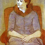 1923 Portrait dOlga, Pablo Picasso (1881-1973) Period of creation: 1919-1930