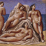 1921 Groupe de nus fВminins, Pablo Picasso (1881-1973) Period of creation: 1919-1930