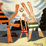 1928 Baigneuses au ballon3, Pablo Picasso (1881-1973) Period of creation: 1919-1930
