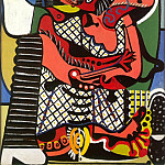 Pablo Picasso (1881-1973) Period of creation: 1919-1930 - 1925 Le baiser
