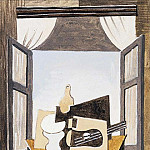 1919 Nature morte devant une fenИtre, Pablo Picasso (1881-1973) Period of creation: 1919-1930